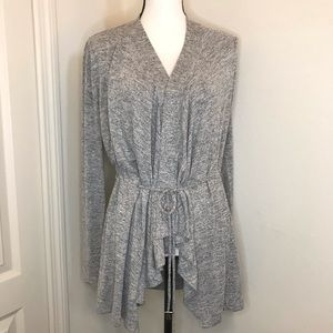 NWOT Simply Vera  Wang Cozy Drawstring Cardigan